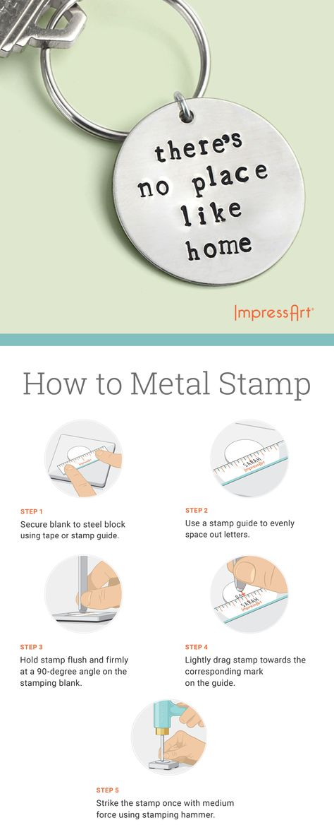 #metalstamping is a fun hobby for experienced crafters and beginner  crafters  #impressart has all the tools and tutorials to help you metal  stamp pieces of