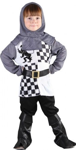 Vestito Cavaliere Bambino.Costume Cavaliere Scacchiera Bambino Costumi Maniche Lunghe Carnevale