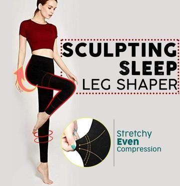 Sculpting Sleep Leg Shaper Sleeping Beauty Leggings for Women Burn Fat Tool New