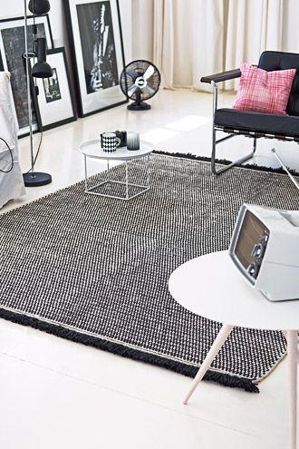 Flure rustikal einrichten mit dem benuta Teppich Naoto im - wohnzimmer deko online shop