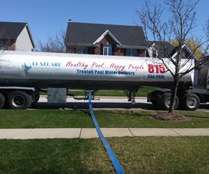 Pool Water For Pools In Rockford Il Swimming Pool Water Pool Water Water Delivery Service