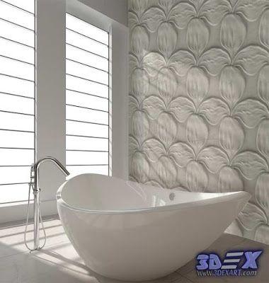 Decorative 3d Gypsum Wall Panels For Bathroom Plaster Wall Paneling Design Ideas Plaster Walls Gypsum Wall Wall Panels