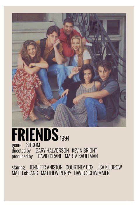 friends vintage poster