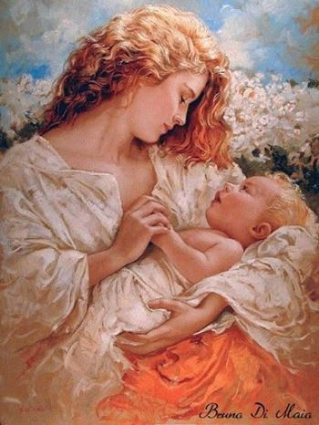Victorian Art century woman painting There's nothing more beautiful than a mother and child. Images Esthétiques, Renaissance Kunst, Italian Painters, Italian Artist, Victorian Art, Victorian Paintings, European Paintings, Classical Art, Mothers Love