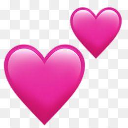 Descargar Gratis Emoji Simbolo En Forma De Corazon Amor Rosa Corazon Png 1024 1024 Y 0 92 Mb Emoji Emoticon Stickers Emoticon