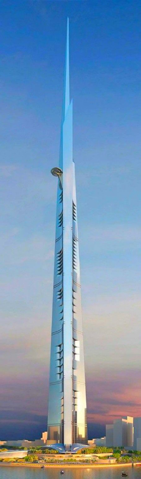 Jeddah Tower برج جدة Previously Known As Kingdom Tower برج المملكة And Mile High Tower برج الميل Is A Skyscraper On Hol High Building Skyscraper Jeddah