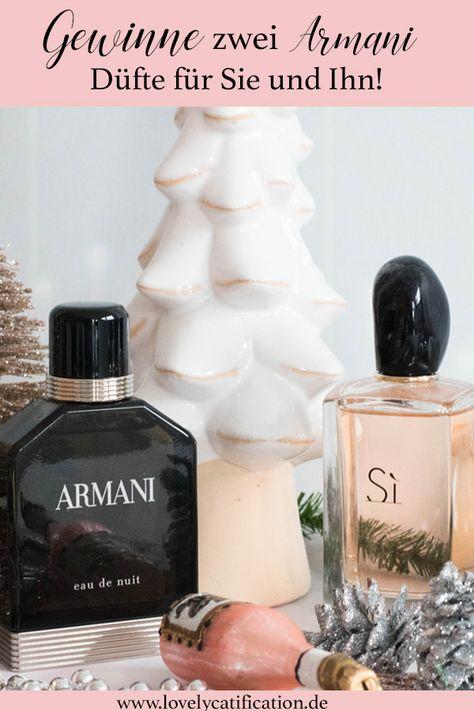 advent ♥♥♥ Gewinne zwei Armani Düfte...