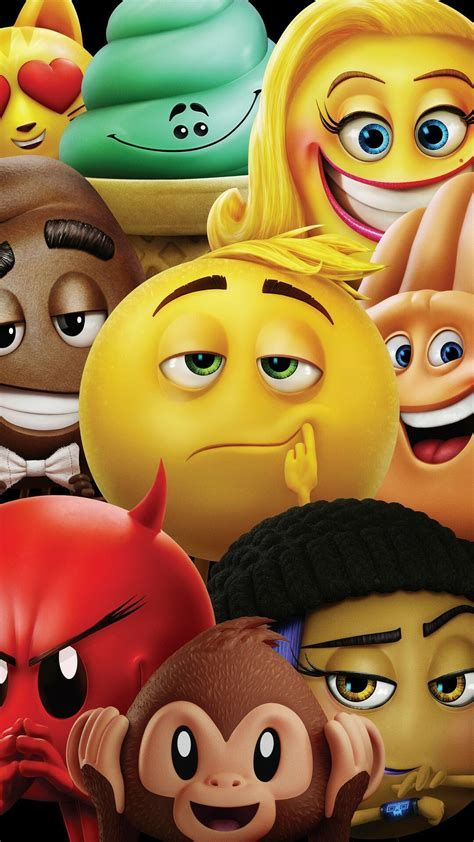 Images By Hendie Purwiliarto On Phone Backgrounds - Cartoon 07   Emoji Movie, Emoji Wallpaper Iphone, Movie Wallpapers F03