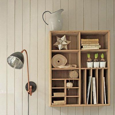Scandinavian Style Oak Shelving Unit And Shelf At Graham And Green Retro To Go In 2020 Oak Wall Shelves Oak Shelves Shelves