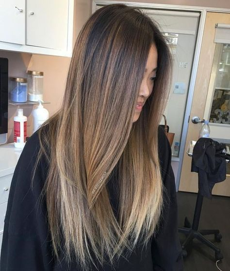 This Minus The Light Tips Brunette Hair Color Balayage Hair Brown Hair With Highlights