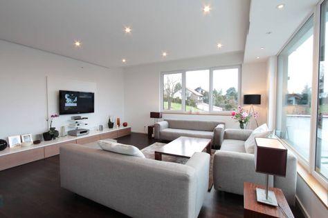 Moderne Wohnzimmer Bilder Wohnzimmer House - home office mit ausblick design bilder