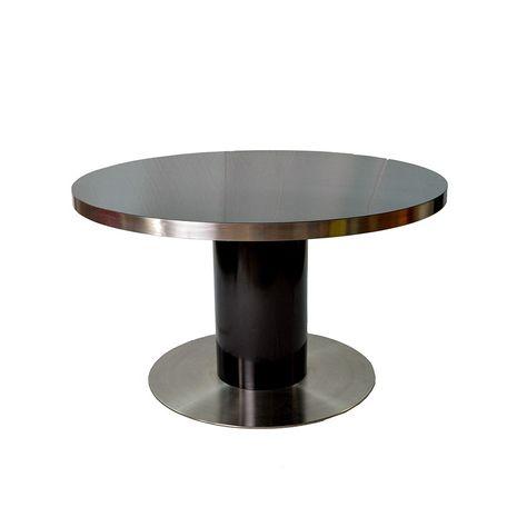 Tavolino Mid Century in bambù e vetro in vendita su Pamono