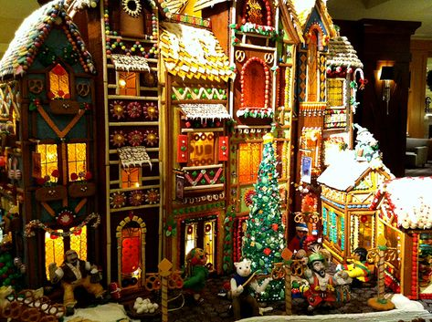 Seattle Christmas Events 2019.Gingerbread Village At Seattle Sheraton Seattle Events