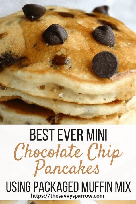 Best Ever Mini Chocolate Chip Pancakes