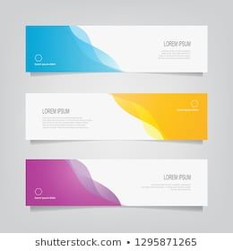 Vector Abstract Banner Design Web Template Abstract Wavy Geometric Banner Trendy Gradient Shape Banner Design Layout Banner Template Design Web Banner Design