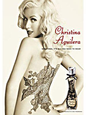 Christina Aguilera fragrances