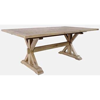 Kinston 38 Pine Solid Wood Trestle Dining Table Solid Wood Dining Table Wood Dining Table Dining Table Solid wood trestle dining table