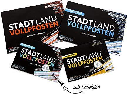 Stadt Land VOLLPFOSTEN® DO IT Yourself-Edition DENKRIESEN