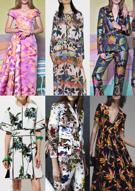 Patternbank have been painstakingly scouring the current Pre-Spring/Summer 2016 collections and have put together the strongest print trends alongside desi