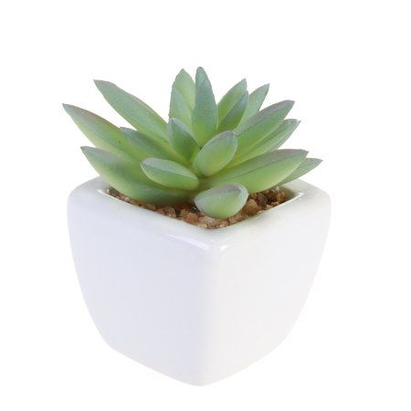 Cube Modern Potted Green Artificial Succulent Plants Mini Fake Flower Pot For Indoor Outdoor Decor Laughing Lotus Walmart Com Artificial Plants Outdoor Artificial Succulents Artificial Succulent Plants