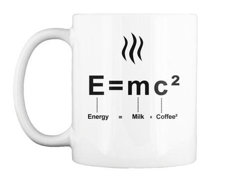 Albert Einstein Mug physic relativity E=MC²
