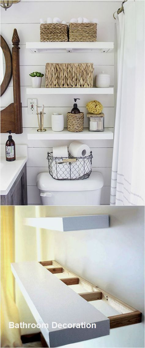 New Bathroom Decoration Ideas Bathroomideas Floating Shelves