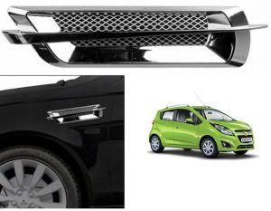 Chevrolet Beat Car Air Flow Side Vent Exterior Duct Set Of 2