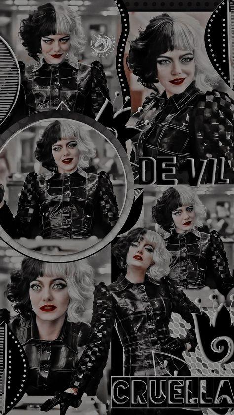 Wallpaper Cruella De Vil