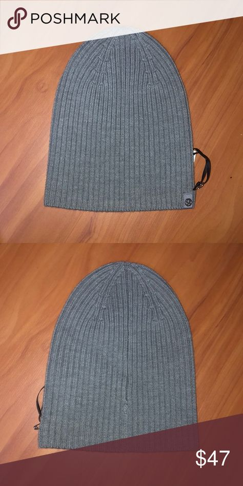 cba239d34e3 Lululemon Gray Toque Brand new. Merino Wool. Color code  HCMG. Open to  offers. lululemon athletica Accessories Hats