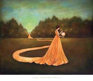 Details about Duy Huynh Unwinding The Path To Self Discovery fantasy  surreal art print poster