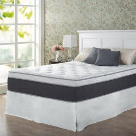 Zinus Night Therapy 13 5 Adaptive Spring Queen Mattress And