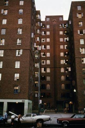 Avenue D Housing Project In Manhattan S Lower East Side Ca 1973 75 Photo Allposters Com In 2021 Lower East Side New York City City Pages