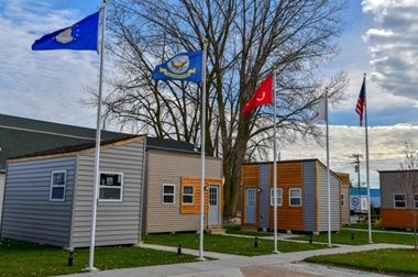 Milwaukee Signs Off On Village Of Tiny Homes For Veterans Homes For Veterans Veterans Village Tiny House