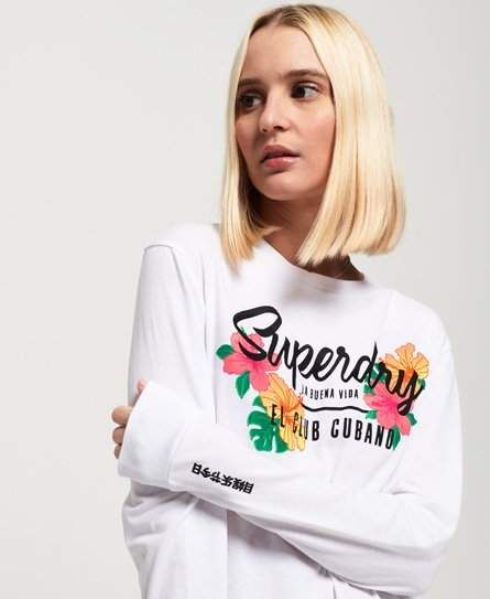 Superdry Cuba Long Sleeve Top #Sponsored , #spon, #Cuba