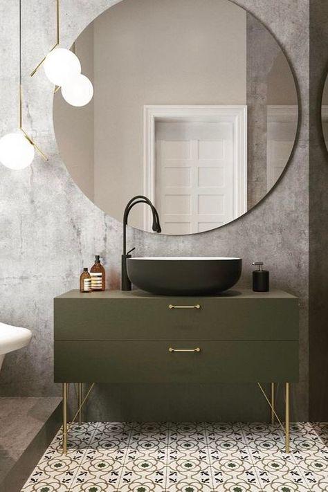 45 Modern Bathroom Mirrors Ideas, Bathroom Mirrors Modern