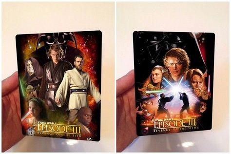 Star Wars Episode I Lenticular Magnet cover Flip effect for Steelbook
