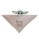 Star Wars Mandalorian Baby Yoda Wearable Blanket/Lovey Gift Set 2pc