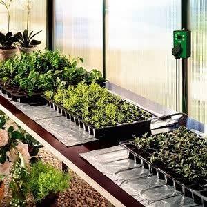 Propagation Heating Mats Harrod Horticultural Uk Greenhouse Growing Greenhouse Staging Greenhouse