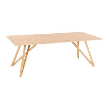 Table De Salle A Manger Miguel Pfister In 2020 Esstisch Klappbarer Tisch Holz