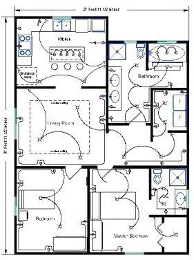 Residential Wire Pro Software Draw Detailed Electrical Floor Ceramicfloordesigns Click The Image Or Electrical Layout Electrical Plan Electrical Installation
