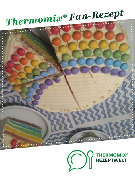 List Of Pinterest Regenbogen Kuchen Thermomix Images Regenbogen
