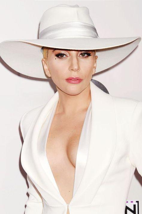 Black Trilby Hat Britney Costume Dance Star Show Diamante Gemstone Trim Party
