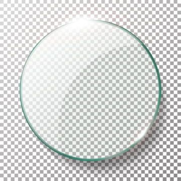 Transparent Round Circle Vector Realistic Illustration Background Glass Circle Circle Glass Glow Png And Vector With Transparent Background For Free Download Frame Border Design Geometric Background Circle