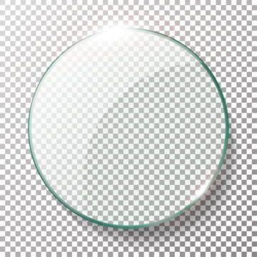Transparent Round Circle Vector Realistic Illustration Background Glass Circle Circle Glass Glow Png And Vector With Transparent Background For Free Download Seni Vektor Latar Belakang Abstrak Vektor Gratis