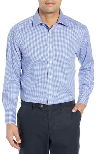 New English Laundry Regular Fit Check Dress Shirt Online Shopping