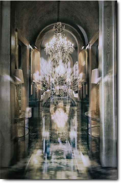 A glam statement to any home, the Chandelier Alley Wall Art is a must-have piece for any large, open wall in your place. Glass Wall Art, Wall Art Decor, Value City Furniture, Glass Printing, Slytherin Aesthetic, Open Wall, Alondra, City Aesthetic, Wall Colors