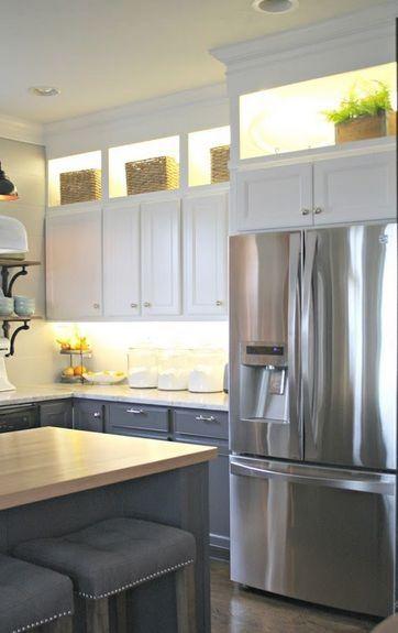 Single Color Electric Led Strip Light 16 Foot Kit With Images New Kitchen Cabinets Diy Kitchen Renovation Kitchen Renovation