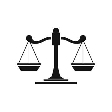Scales Of Justice Icon Simple Style Judge Clipart Style Icons Simple Icons Png And Vector With Transparent Background For Free Download Poster Background Design Justice Symbol Simple Icon