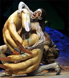 Caliban in prospero's clutches