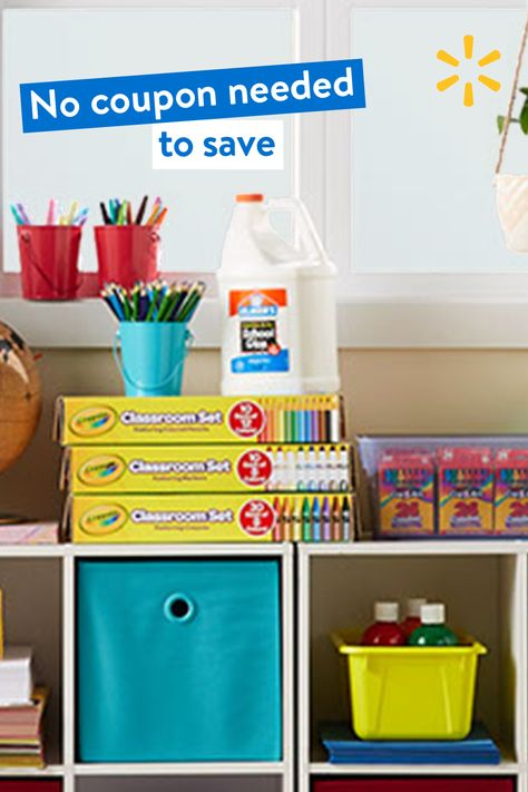 Save on supplies at the teacher shop, for the classroom or online.